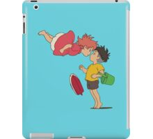 Ponyo, greeting iPad Case/Skin