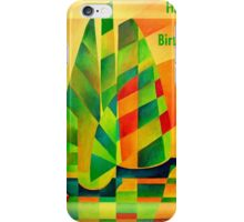 Happy Birthday Chinese Junks, Sunset, Sails and Shadows iPhone Case/Skin