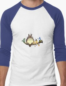 Totoro!  Men's Baseball ¾ T-Shirt
