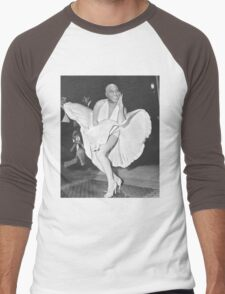 Ainsley harriott marilyn monroe (hariot harriot) Men's Baseball ¾ T-Shirt