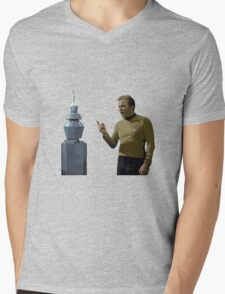 The Original Series: Kirk & Nomad Mens V-Neck T-Shirt