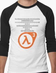 Halflife 3 confirmed Men's Baseball ¾ T-Shirt