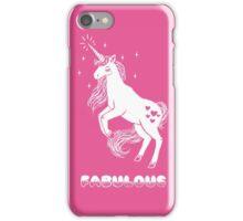 Fabulous Sparkly Unicorn iPhone Case/Skin