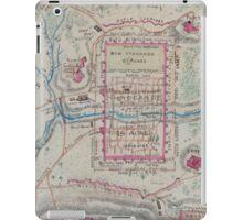 Civil War Maps 0032 Andersonville Prison Georgia in July 1864 iPad Case/Skin
