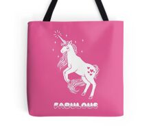 Fabulous Sparkly Unicorn Tote Bag