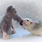 Playing in the snow by Ellen van Deelen