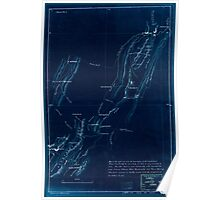 Civil War Maps 2277 Western Virginia from Petersburg to Warm Springs showing the movement of the Union army 1862 Inverted Poster