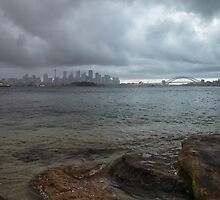 Stormy Harbour by yolanda