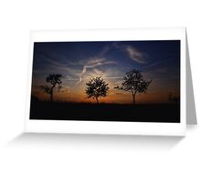 Sunset Review Greeting Card