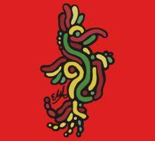 Cool Reggae Bird One Piece - Short Sleeve