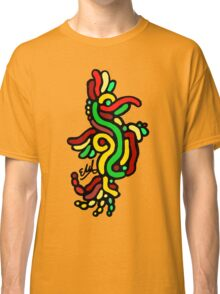 Cool Reggae Bird Classic T-Shirt