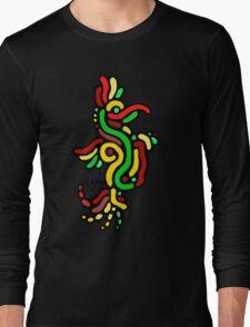 Cool Reggae Bird Long Sleeve T-Shirt