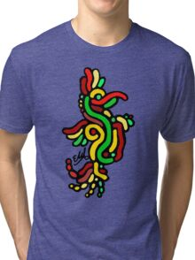 Cool Reggae Bird Tri-blend T-Shirt