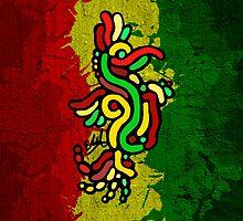 Cool Reggae Bird by ELARTIST