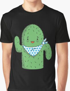 Mr J.G Cactus (sky) Graphic T-Shirt