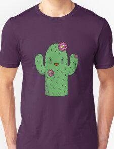 Mrs J.G Cactus (sky) T-Shirt