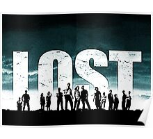 Lost - Title and Characters Poster