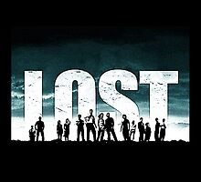 Lost - Title and Characters by Yithian