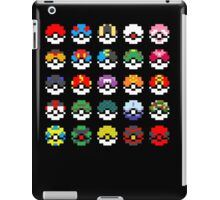 Pixel Pokeball Design [RE] iPad Case/Skin