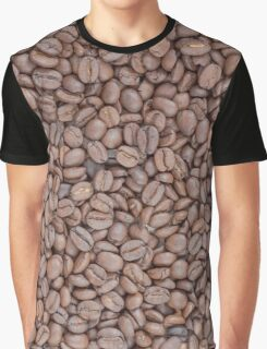 Coffee beans texture Graphic T-Shirt