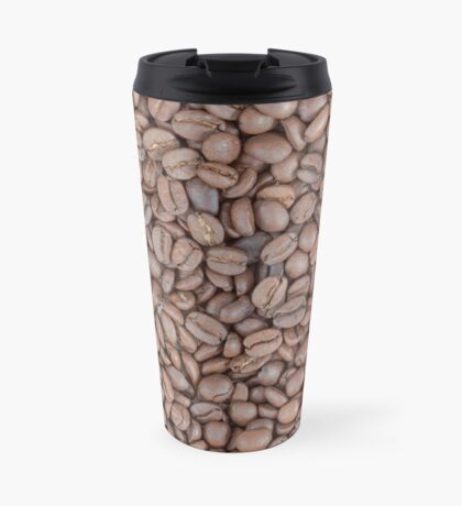 Coffee beans texture Travel Mug