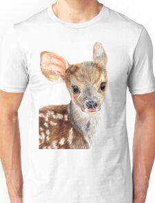 Cute Baby Deer/ Fawn Unisex T-Shirt