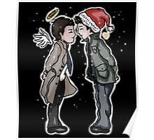 A Destiel Christmas Poster