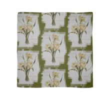 Wishing You A Wonderful Day Double Narcissi In A Bouquet Scarf