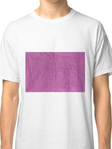 Wrinkled Paper Classic T-Shirt