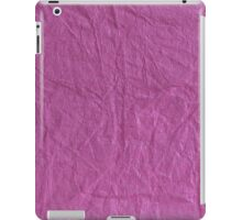 Wrinkled Paper iPad Case/Skin