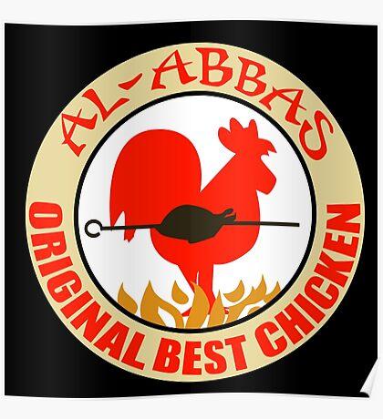Al-Abbas: Original Best Chicken Poster