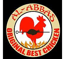 Al-Abbas: Original Best Chicken Photographic Print