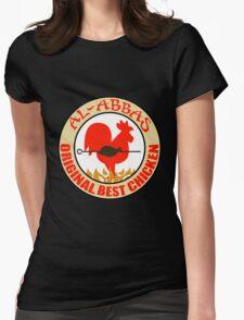 Al-Abbas: Original Best Chicken Womens Fitted T-Shirt