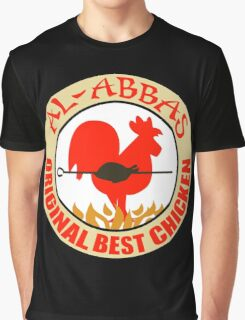 Al-Abbas: Original Best Chicken Graphic T-Shirt
