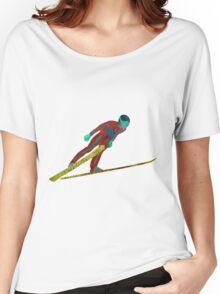 Ski Jumper Women's Relaxed Fit T-Shirt