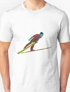 Ski Jumper Unisex T-Shirt
