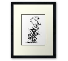 RAT REVERSE-CYCLE STEAM ENGINE Framed Print