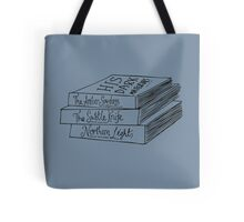 His Dark Materials Book Stack Tote Bag