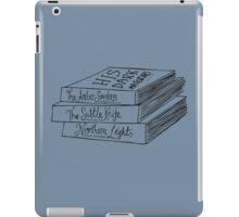 His Dark Materials Book Stack iPad Case/Skin