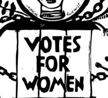 Votes for Women Sticker