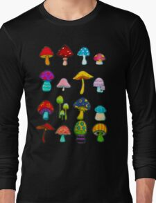 Know Your Mushrooms Long Sleeve T-Shirt