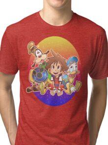 Kingdom Hearts Friends Tri-blend T-Shirt