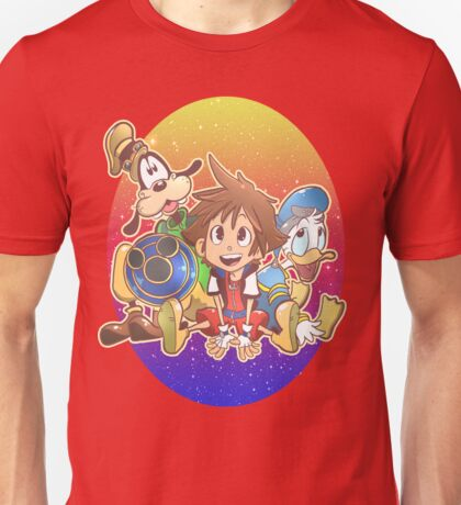 Kingdom Hearts Friends Unisex T-Shirt