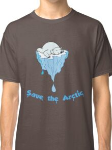 Save the Arctic bear Classic T-Shirt