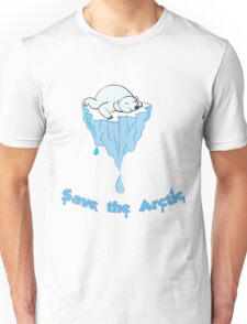 Save the Arctic bear Unisex T-Shirt