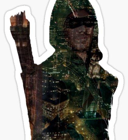 Arrow city Sticker