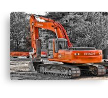 Hitachi Zaxis 270 Canvas Print