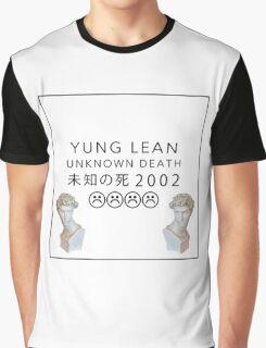Yung Lean Unkown Death Vaporwave Aesthetics Graphic T-Shirt