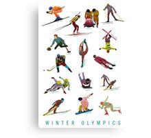 Winter Olympics Canvas Print