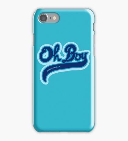 Oh Boy! - Quantum Leap iPhone Case/Skin